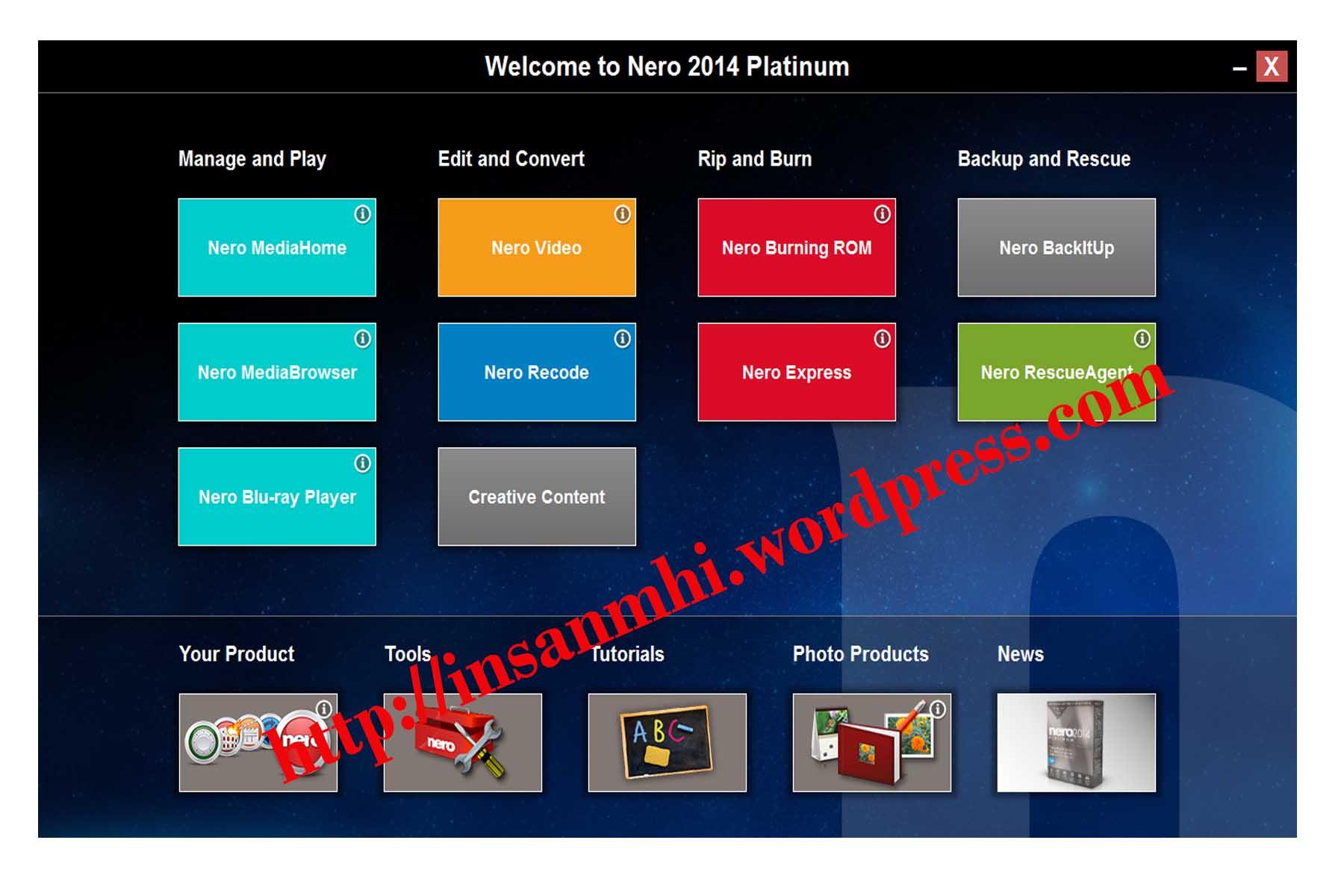 Nero 2014 product key free